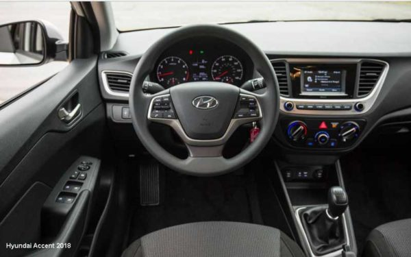 Hyundai-Accent-2018-steering-and-transmission