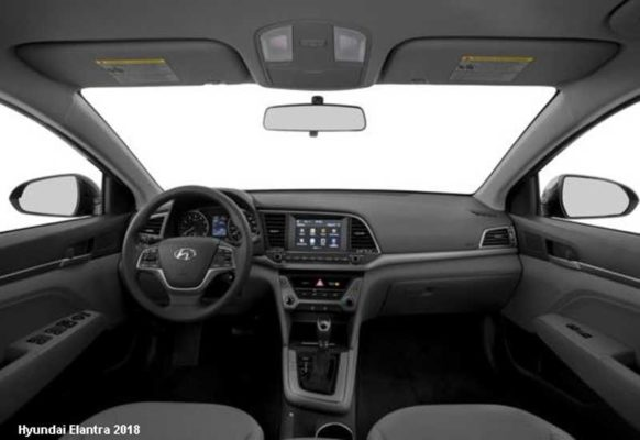 Hyundai-Elantra-2018-steering-and-transmission