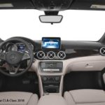 Mercedes-Benz-CLA-Class-2018-steering-and-transmission