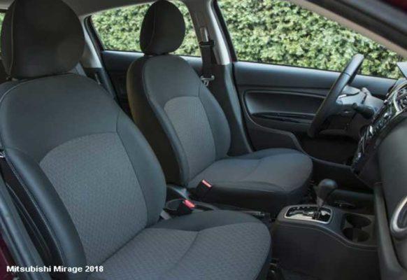 Mitsubishi-Mirage-2018-Front-seats