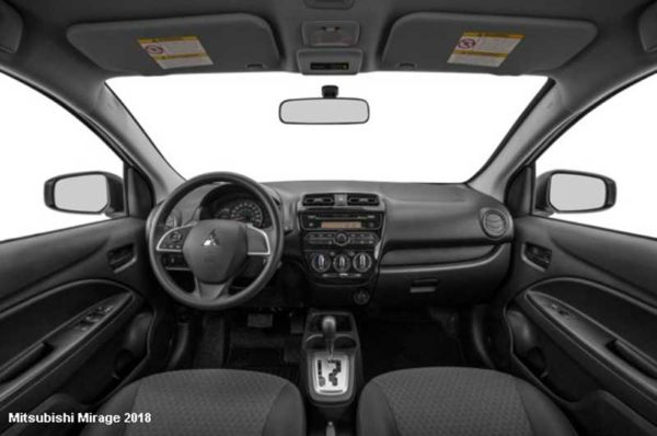 Mitsubishi-Mirage-2018-Steering-and-transmission