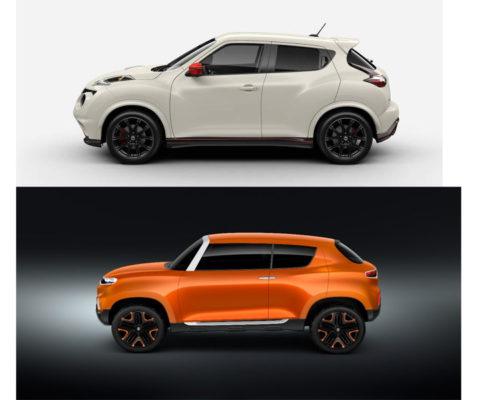 Nissan-Juke-VS-Suzuki-Concept-S-Side-View-2018-indian-Auto-Show