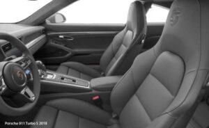 Porsche-911-Turbo-S-2018-front-seats