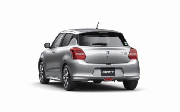 Suzuki-Swift-2018-Launch-in-Thailand-Rear-view
