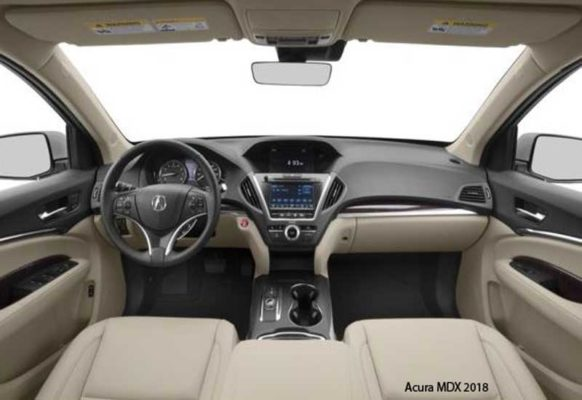 Acura-MDX-2018-steering-and-transmission