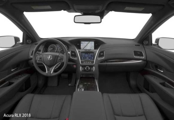 Acura-RLX-2018-steering-and-transmission