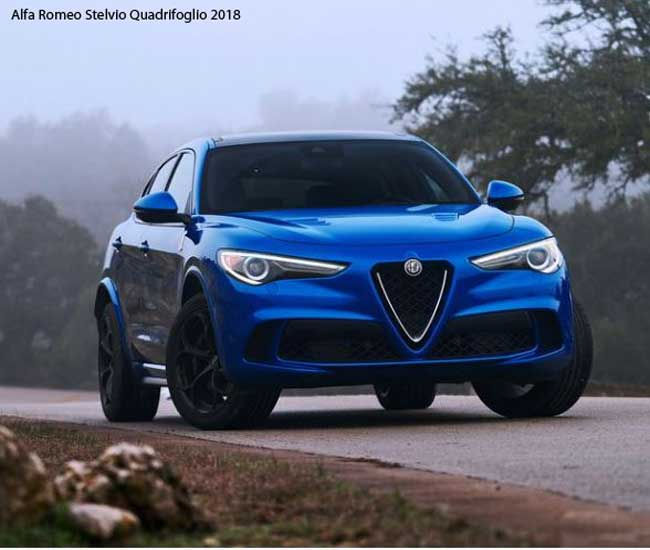 Alfa Romeo Stelvio Quadrifoglio 2018 Price,specifications