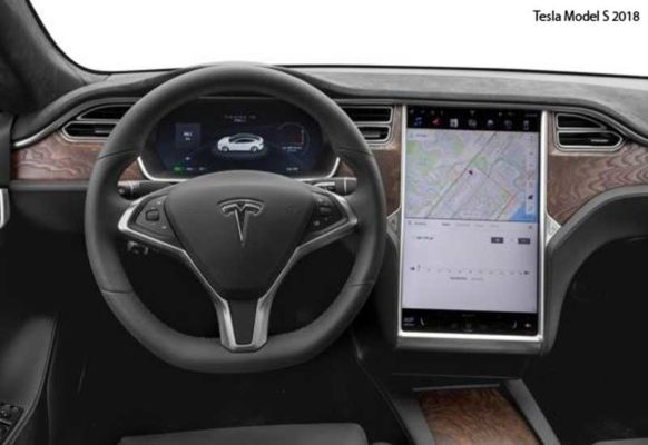 Tesla-Model-S-2018-steering-and-transmission