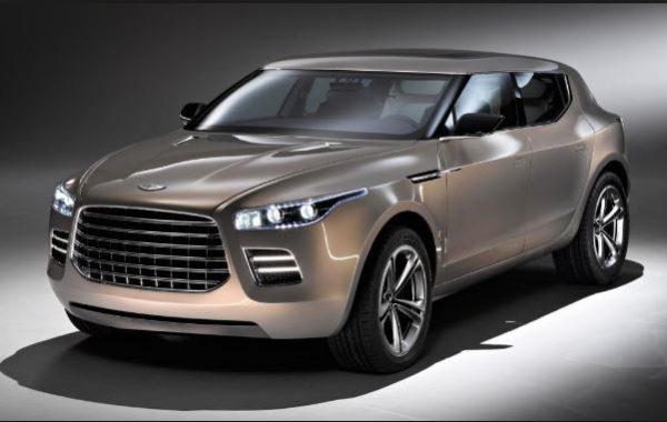 Aston Martin Lagonda SUV Concept full view