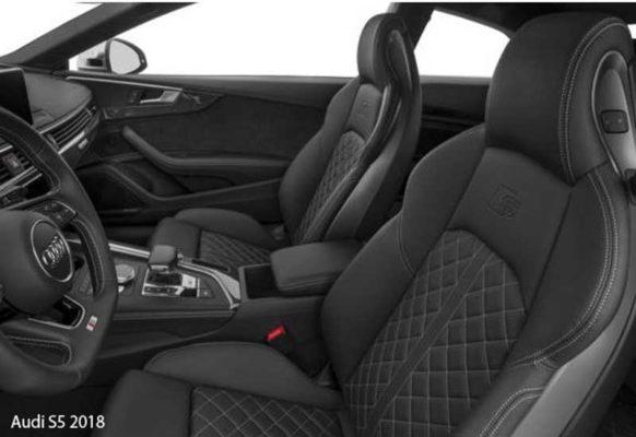 Audi-S5-2018-front-seats
