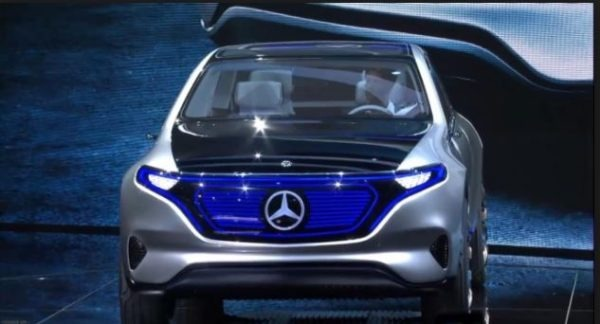 Mercedes Benz EV Production
