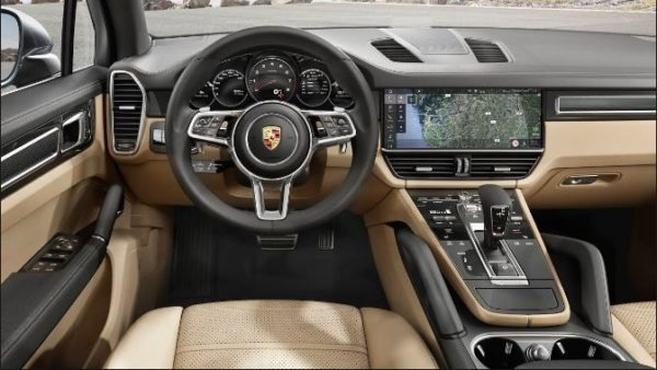 Porsche Cayenne ranked 3 in luxury mid sized SUV's