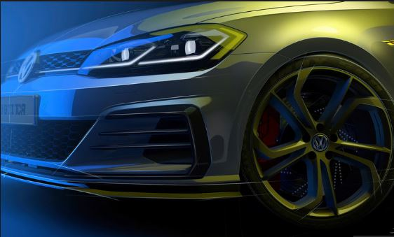 Volkswagen Golf GTI TCR Front wheel