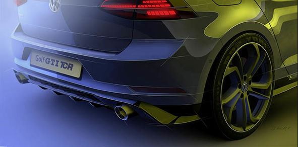 Volkswagen Golf GTI TCR Rear Side