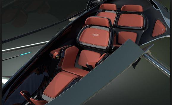 Aston Martin Volante Vision Concept inside view