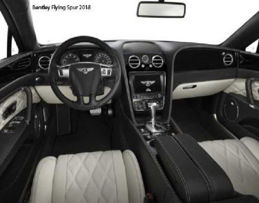 Bentley-Flying-Spur-2018-front-seats
