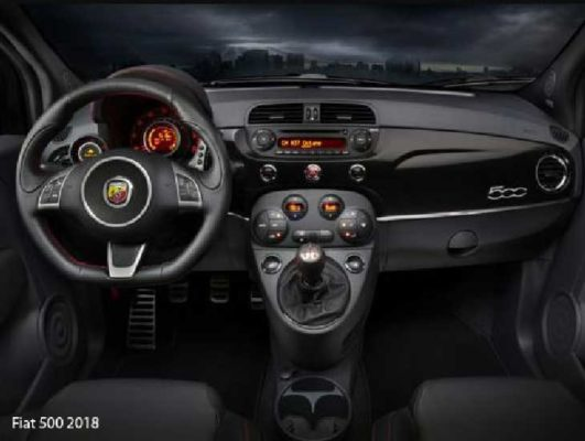 Fiat-500-2018-steering-and-transmission
