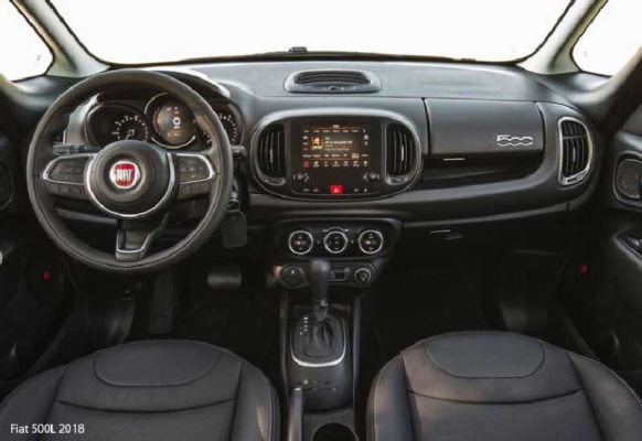 Fiat-500L-2018-steering-and-transmission