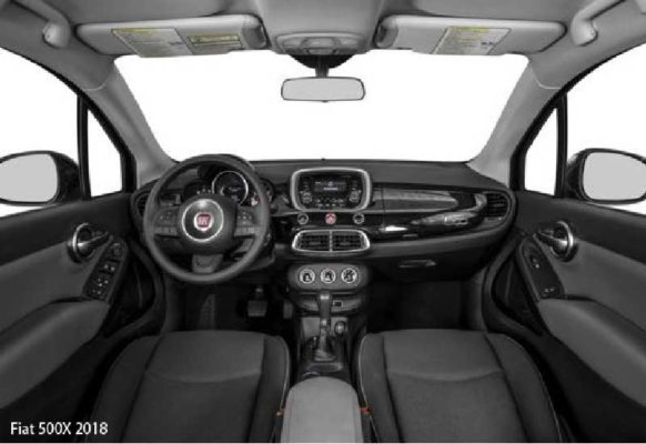 Fiat-500X-2018-steering-and-transmission