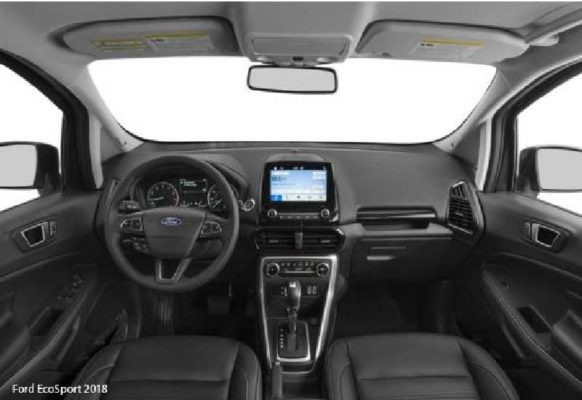 Ford-EcoSport-2018-steering-and-transmission