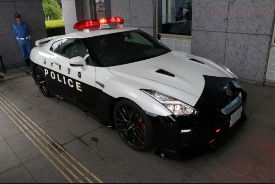 Nissan Gifted car to Japan Police