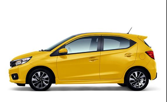 Honda Brio 2019 side view