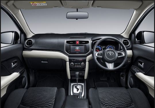IMC to Bring Toyota Rush in Pakistan - interior view
