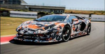 Lamborghini Aventador SVJ New Lap Record at Nurburgring