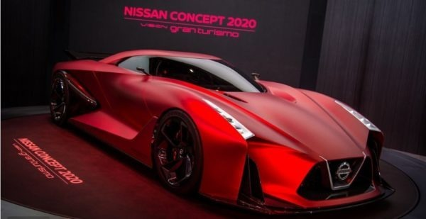 Nissan GTR the fastest sports car in the world