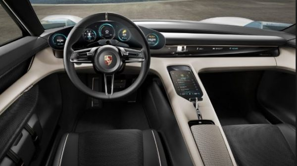 Porsche Taycan 2019 interior