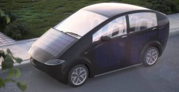Sion a Solar Powered Vehicle that gets charge as you drive
