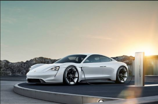 Upcoming All Electric Porsche Taycan