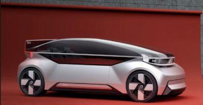 360c electric autnomous concept by Volvo