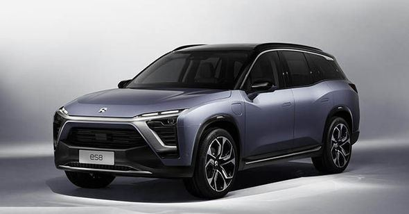Chinese NIO ES8 Electric SUV 7 seated