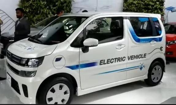 Electric WagonR by Suzuki