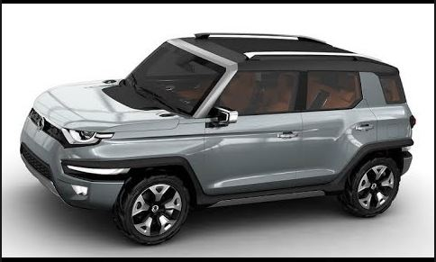 Expected Design of Mahindra XUV 300 SUV