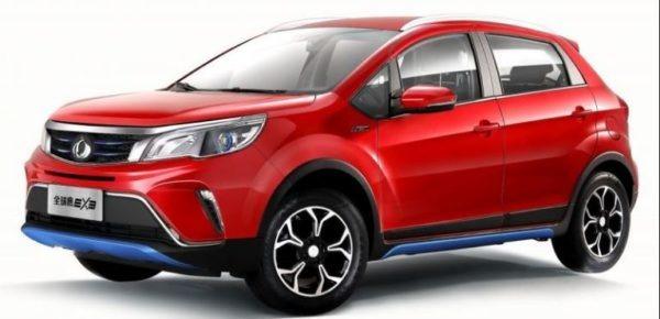 Kandi EX3 SUV for United States Market