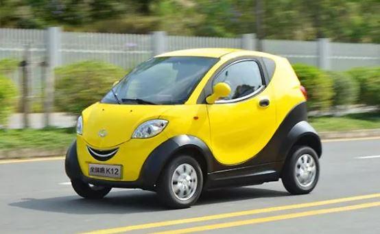 Kandi Sub Compact k12 Electric Vehicle for United States Market