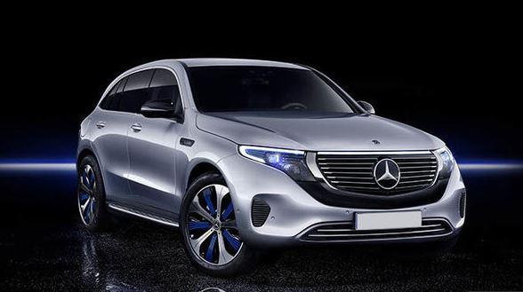 Mercedes Benz EQC all Electric SUV