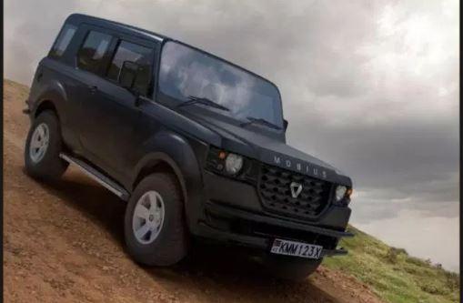 Mobius II a Kenyan SUV