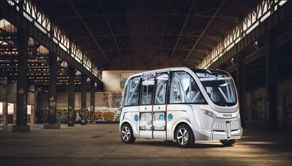 Self driving autnomous vehicles by Navya