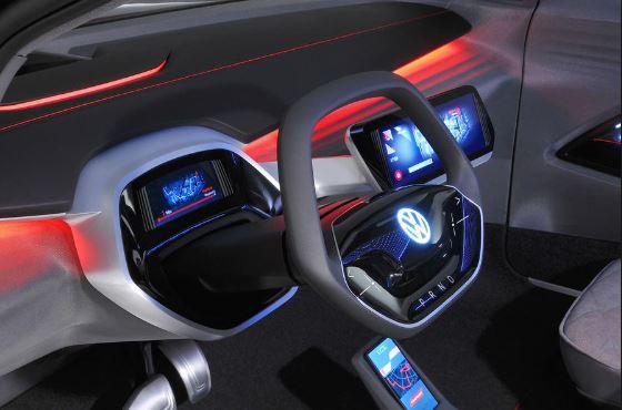 Volkswagen Neo ID a futurisctic electric car