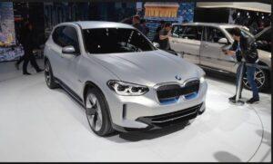 iX3 all electric SUV by BMW
