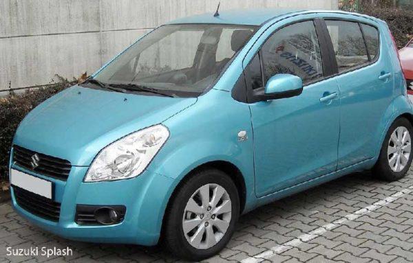 Suzuki Splash Title image