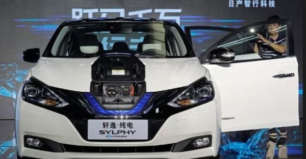 sylphy zero emission car by Nissan