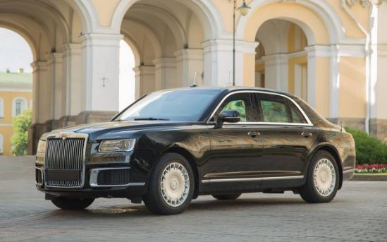 Aurus Senat Sedan another Addition to Vladimir Putin Collection