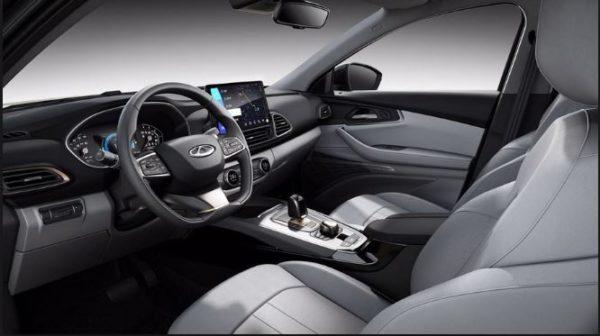 Cherry Exeed TX Hybrid Interior