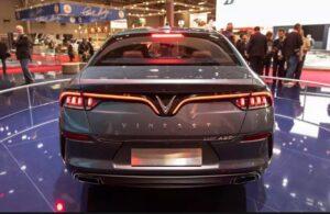 First Sedan car by Vinfast Vietnam brand