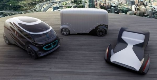 Future of Mercedes is Vision URBANETIC