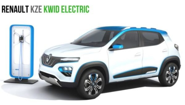 KZE Electric Crossover by Renault will able to Travel 250 km on full charge